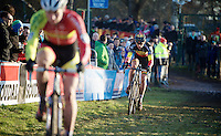 after a few (relatively) better races, Sven Nys (BEL/Crelan-AAdrinks) had mainly a lot of catching up to do today<br /> <br /> CX Leuven Soudal Classic 2015