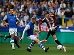 David Brooks of Sheffield Utd twisting his way through during the Championship match at the Hillsborough Stadium, Sheffield. Picture date 24th September 2017. Picture credit should read: Simon Bellis/Sportimage
