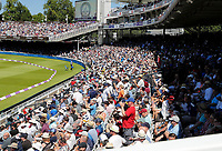 Kent fans pack the stands at Lords during the Royal London One Day Cup Final between Kent and Hampshire at Lords Cricket Ground, London, on June 30, 2018