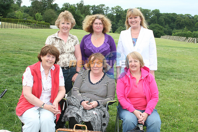 Anne Flynn, Anne Collins, Patricia Byrne, Theresa Stack, Noeline Mackey and Catriona Chuinneagain at the Outdoor Production of A Midsummer Nights Dream at Oldbridge House....Photo NEWSFILE/Jenny Matthews.(Photo credit should read Jenny Matthews/NEWSFILE)....This Picture has been sent you under the condtions enclosed by:.Newsfile Ltd..The Studio,.Millmount Abbey,.Drogheda,.Co Meath..Ireland..Tel: +353(0)41-9871240.Fax: +353(0)41-9871260.GSM: +353(0)86-2500958.email: pictures@newsfile.ie.www.newsfile.ie.FTP: 193.120.102.198.