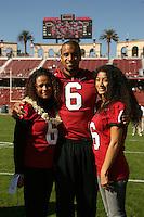 18 November 2006: David Lofton during Stanford's 30-7 loss to Oregon State at Stanford Stadium in Stanford, CA.