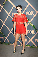 LOS ANGELES - SEP 25:  Brianna Hildebrand at the FOX Fall Premiere Party 2017 at the Catch on September 25, 2017 in West Hollywood, CA