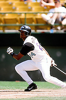Gary Matthews,jr of the Las Vegas Stars during a game at Cashman Field circa 1999 in Las Vegas, Nevada. (Larry Goren/Four Seam Images)