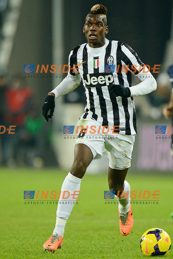 Paul Pogba Juventus<br /> Torino 02-02-2014 Juventus Stadium - Football 2013/2014 Serie A. Juventus - Inter Foto Giuseppe Celeste / Insidefoto