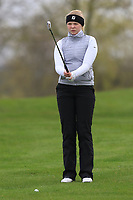 Matilda Cederholm (SWE) on the 1st fairway during Round 1 of the Irish Girls U18 Open Stroke Play Championship at Roganstown Golf &amp; Country Club, Dublin, Ireland. 05/04/19 <br /> Picture:  Thos Caffrey / www.golffile.ie