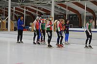 SCHAATSEN: LEEUWARDEN: 21-09-2015, Elfstedenhal, ©foto Martin de Jong