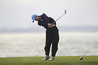 Luke O'Neill (Galway) on the 15th tee during the Connacht Final of the AIG Barton Shield at Galway Bay Golf Club, Galway, Co Galway. 11/08/2017<br /> <br /> Picture: Golffile | Thos Caffrey<br /> <br /> <br /> All photo usage must carry mandatory copyright credit     (&copy; Golffile | Thos Caffrey)