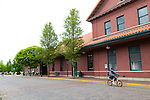 Centralia's historic Union Train Station.