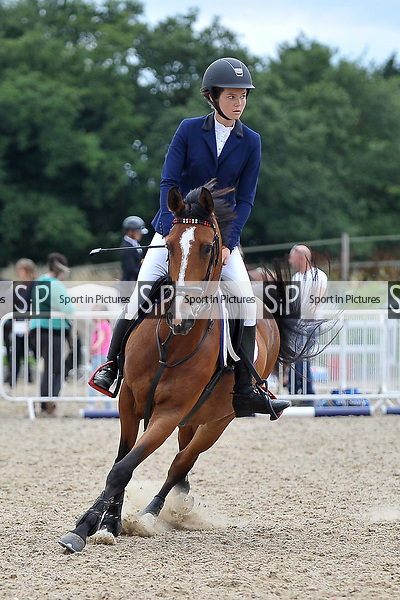 Class 5. Bright Star Championship. British showjumping juniors. Brook Farm Training Centre. Essex. 16/07/2017. MANDATORY Credit Garry Bowden/Sportinpictures - NO UNAUTHORISED USE - 07837 394578