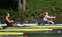 Lucerne, SWITZERLAND<br /> <br /> GBR W1X. Mathilda HODGKIN-BYRNE.  2016 European Olympic Qualifying Regatta, Lake Rotsee.<br /> <br /> Sunday  22/05/2016<br /> <br /> [Mandatory Credit; Peter SPURRIER/Intersport-images]
