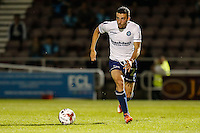 Nick Freeman of Wycombe Wanderers during The Checkatrade Trophy match between Northampton Town and Wycombe Wanderers at Sixfields Stadium, Northampton, England on 30 August 2016. Photo by David Horn / PRiME Media Images.