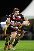 Andrew Kellaway. Mitre 10 Cup rugby game between Counties Manukau Steelers and Taranaki Bulls, played at Navigation Homes Stadium, Pukekohe on Saturday August 10th 2019. Taranaki won the game 34 - 29 after leading 29 - 19 at halftime.<br /> Photo by Richard Spranger.