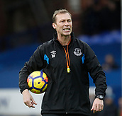 2nd December 2017, Goodison Park, Liverpool, England; EPL Premier League football, Everton versus Huddersfield Town;  Everton first team coach and former player Duncan Ferguson, who will work alongside Craig Shakespeare and Sammy Lee on Sam Allardyce's management team