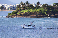 VITÓRIA, ES, 29.12.2019 - PRAIA-ES - Praia de Camburi, vista da Ilha do Frade, em Vitória - ES, neste domingo, 29. (Foto Charles Sholl/Brazil Photo Press/Folhapress)