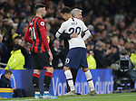 Tottenham's Head Coach Jose Mourinho hugs Dele Alli after he is substituted during the Premier League match at the Tottenham Hotspur Stadium, London. Picture date: 30th November 2019. Picture credit should read: Paul Terry/Sportimage