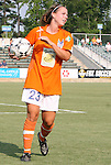 03 July 2008: Carolina's Kelly Attayek. The Charlotte Lady Eagles defeated the Carolina Railhawks Women 3-0 at WakeMed Stadium in Cary, NC in a 2008 United Soccer League W-League regular season game.