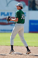 July 16, 2009:  Pitcher Shane Erb of the Vermont Lake Monsters during a game at Russell Diethrick Park in Jamestown Jammers, NY.  The Lake Monsters are the NY-Penn League Short-Season Class-A affiliate of the Washington Nationals.  Photo By Mike Janes/Four Seam Images
