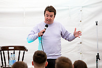 14th July 2019: Comedian Paul McCaffery performs his show 'Lemon' on day 2 of the 2019 Comedy Crate Festival, Northampton.