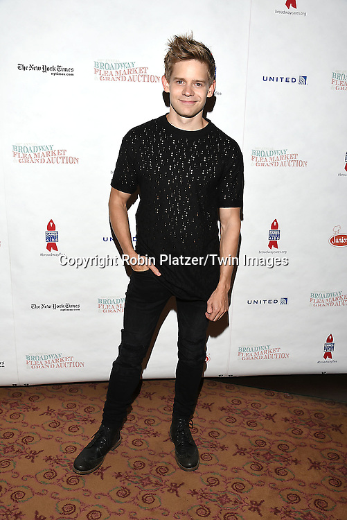Andrew Keenan-Bolger attends the Broadway Cares/Equity Fights Aids Flea Market and Grand Auction on September 25, 2016 at the Music Box Theatre and in Shubert Ally in New York, New York, USA. <br /> <br /> photo by Robin Platzer/Twin Images<br />  <br /> phone number 212-935-0770