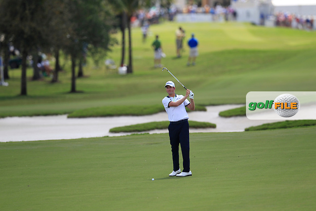 Webb Simpson (USA) during the 2nd round at the WGC Cadillac Championship, Blue Monster, Trump National Doral, Doral, Florida, USA<br /> Picture: Fran Caffrey / Golffile