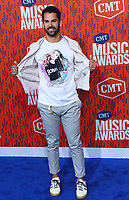 NASHVILLE, TENNESSEE - JUNE 05: Eric Decker attends the 2019 CMT Music Awards at Bridgestone Arena on June 05, 2019 in Nashville, Tennessee. <br /> CAP/MPI/IS/NC<br /> ©NC/IS/MPI/Capital Pictures
