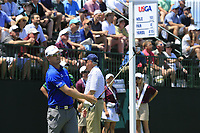 Zach Johnson (USA) tees off the 10th tee during Saturday's Round 3 of the 118th U.S. Open Championship 2018, held at Shinnecock Hills Club, Southampton, New Jersey, USA. 16th June 2018.<br /> Picture: Eoin Clarke | Golffile<br /> <br /> <br /> All photos usage must carry mandatory copyright credit (&copy; Golffile | Eoin Clarke)