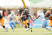 September 7, 2009; Hamilton, ON, CAN; Hamilton Tiger-Cats wide receiver Marquay McDaniel (6). CFL football - the Labour Day Classic - Toronto Argonauts vs. Hamilton Tiger-Cats at Ivor Wynne Stadium. The Tiger-Cats defeated the Argos 34-15. Mandatory Credit: Ron Scheffler.