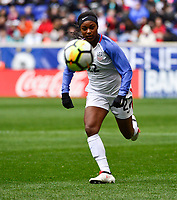 Harrison, N.J. - Sunday March 04, 2018: Taylor Smith during a 2018 SheBelieves Cup match between the women's national teams of the United States (USA) and France (FRA) at Red Bull Arena.
