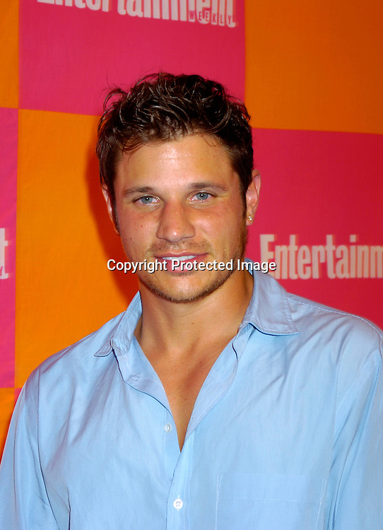 "Nick Lachey..at The Entertainment Weekly's ""The Must List"" party at ..Crobar in New York City on June 17, 2004. ..Photo by Robin Platzer, Twin Images"