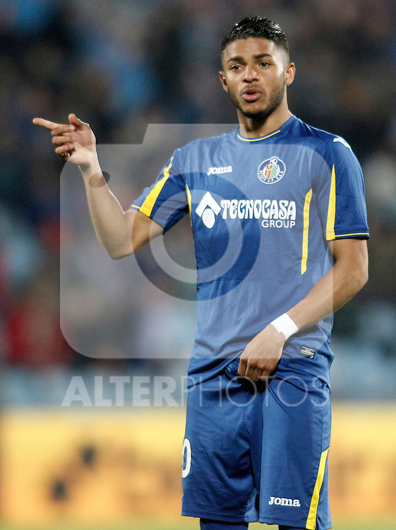 Getafe's Wanderson during La Liga match. March 18,2016. (ALTERPHOTOS/Acero)