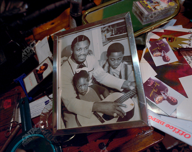 Memorabilia, Joe Frazier's home, Philadelphia, Pennsylvania, March 2000