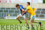 Tomás Ó Sé Kerry in action against Luke Moran Meath in the All Ireland Junior Football Final at O'Moore Park, Portlaoise on Saturday.
