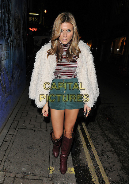 Zoe Hardman attends the Lilah Parsons debut capsule collection for Yumi launch party, 15 Bateman Street, Bateman Street, London, UK, on Tuesday 01 December 2015.<br /> CAP/CAN<br /> &copy;Can Nguyen/Capital Pictures