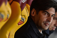 Paulo Fonseca Roma coach<br /> Roma 5-1-2020 Stadio Olimpico <br /> Football Serie A 2019/2020 <br /> AS Roma - Torino FC <br /> Foto Antonietta Baldassarre / Insidefoto
