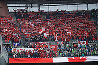 Toronto FC fans hold up scarves before the MLS Cup