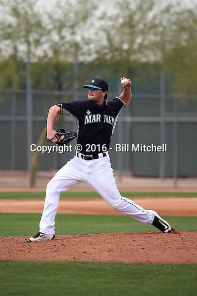 Matt Clancy - Seattle Mariners 2016 spring training (Bill Mitchell)