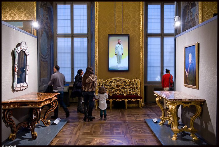 Video portraits di Robert Wilson a Palazzo Madama. Novembre 2012.