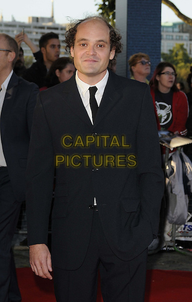 "DAVID DENCIK .The ""Tinker, Tailor, Soldier, Spy"" UK premiere, BFI  Southbank cinema, Belvedere Rd., London, England..September 13th, 2011.half length black suit hand in pocket.CAP/CAN.©Can Nguyen/Capital Pictures."