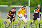 Ronan Shanahan Austin Stacks in action against Padraig Quille Feale Rangers in the County Championship in Listowel on Sunday