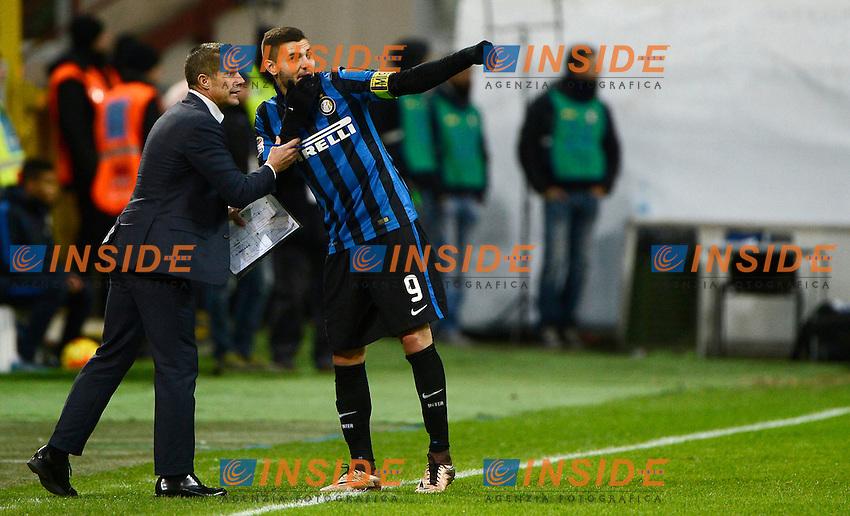 Silvinho e Mauro Icardi Inter<br /> Milano 03-02-2016 Stadio Giuseppe Meazza - Football Calcio Serie A Inter - Chievo Verona. Foto Giuseppe Celeste / Insidefoto