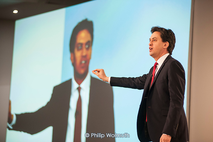 Ed Miliband MP. Labour Party Special Conference on reform of its links to trade unions, ExCel Centre, London.