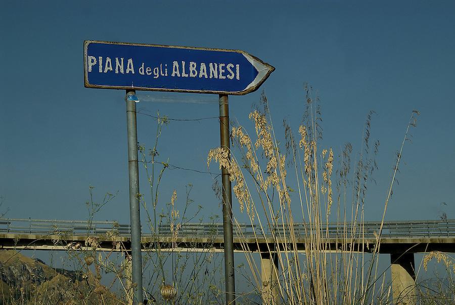 Piana degli Albanesi, Sicily.