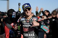 16th November 2019; Circuit Ricardo Tormo, Valencia, Spain; Valencia MotoGP, Qualifying Day; Fabio Quartararo (Petronas Yamaha) 1st on pole - Editorial Use