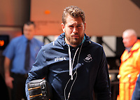 Kristoffer Nordfeldt of Swansea City  arrives prior to the Premier League match between Sunderland and Swansea City at the Stadium of Light, Sunderland, England, UK. Saturday 13 May 2017