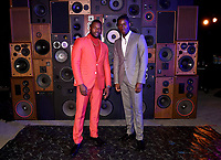 """LOS ANGELES - JULY 08: (L-R) Cast members Amin Joseph and Damson Idris attend the Red Carpet Event for FX's """"Snowfall"""" Season Three Premiere Screening at USC Bovard Auditorium on July 8, 2019 in Los Angeles, California. (Photo by Frank Micelotta/PictureGroup)"""