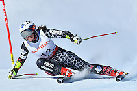 February 16, 2017: Tina WEIRATHER (LIE) competing in the women's giant slalom event at the FIS Alpine World Ski Championships at St Moritz, Switzerland. Photo Sydney Low