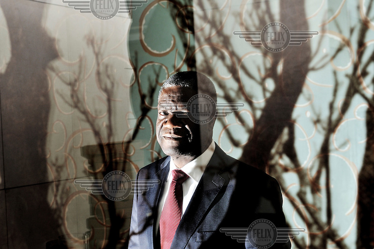 Denis Mukwege, a Congolese gynecologist. He founded and works in Panzi Hospital in Bukavu, where he specialises in the treatment of women who have been raped by rebel forces. Mukwege has become the world's leading expert on how to repair the internal physical damage caused by gang rape.