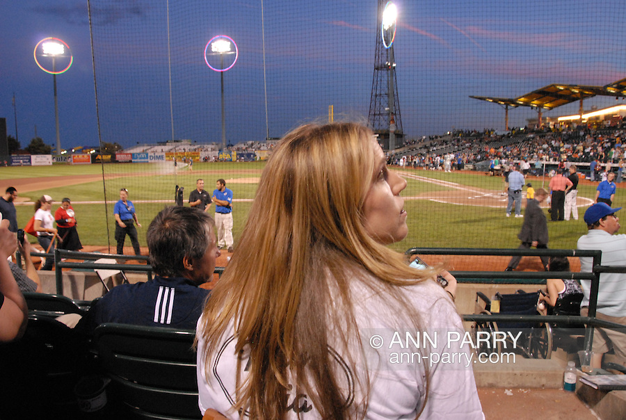The Brooklyn Cyclones give award to Pia Toscano at start of game, and put Pia Toscano banner up on their MCU Stadium. Starting when she was 14, Pia sang at start of baseball Minor League team Cyclones games, and is currently on national tour with fellow American Idol top 13 contestants. photo © 2011 Ann Parry, All rights reserved. Ann-Parry.com