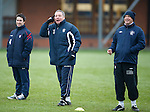 "Ally McCoist in Brian Clough moment ""You lot are useless"" as Kenny McDowall is laughing"