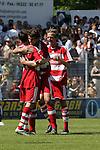 Sandhausen 10.05.2008, Torjubel bei den Bayern in der Regionalliga beim Spiel SV Sandhausen - FC Bayern M&uuml;nchen II<br /> <br /> Foto &copy; Rhein-Neckar-Picture *** Foto ist honorarpflichtig! *** Auf Anfrage in h&ouml;herer Qualit&auml;t/Aufl&ouml;sung. Belegexemplar erbeten.